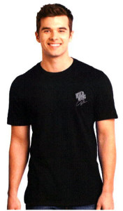 JW Shirtworks Wild Wings Shirt Mens Black Shirt Tee Shirt Bar