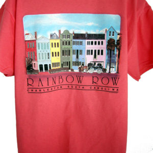 Rainbow Row Exclusive Tee-Shirt Design JW Shirtworks